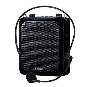 Mini amplificateur de voix 25 W, haut-parleur avec microphone portable, étanche et rechargeable, haut-parleur Bluetooth pour enseignants
