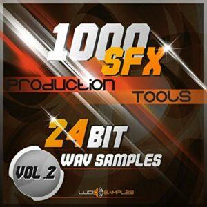 NOISE FL Studio 1000 SFX Production Tools Vol.2 – Effets Sonores Tres Recherchés WAV Files (24Bit) DVD non BOX
