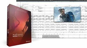 Notion 6 logiciel de composition musicale