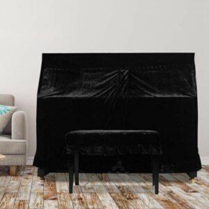 Omabeta 153x35x110cm Protection de l'appareil Complet Droit Complet Piano Tissu électrique poussière Soleil pour la Maison pour Salle de Stockage
