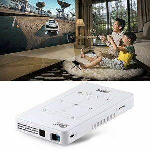 Projecteur LED Mini projecteur intelligent DLP 4K Ultra HD portable P09 avec télécommande infrarouge, Amlogic S905X 4-Core A53 jusqu'à 1,5 GHz Android 6.0, 1 Go + 8 Go, prise en charge WiFi 2.4G / 5G,
