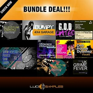 Sample Pack UKG Bundle 10 in 1 est une collection des sons et loops parfaits pour production de musique UK Garage, Classic House, Deep House,…