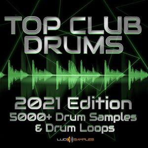 SAMPLE Reaper Top Club Drums Vol 1 – 2888 Tambours et Drum Loops, Sample Pack Tambour WAV Files DVD non BOX