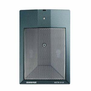 Shure Beta 91A Microphone à Condensateur Semi – Cardioïde avec Préamplificateur Intégré et Sortie Xlr Mâle