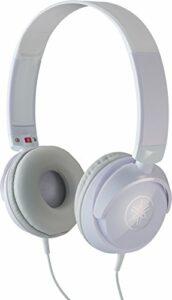 Yamaha HPH-50 – Casque audio compact pour piano numérique – Écouteurs filaires à la sonorité équilibrée – Blanc