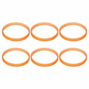 20 pièces courroie d'entraînement de raboteuse de remplacement courroie d'entraînement de Transmission en néoprène orange clair Compatible avec Makita BKP180 KP0800 FP0800 N1923BD
