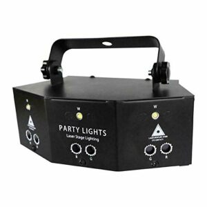 9 lens stage scanning light DJ disco ball KTV bar projector party light dance show Christmas holiday home decoration