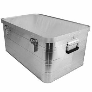 Accu Case ACF-SA/Transport Case Malle en aluminium Taille XL