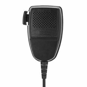 Annadue Support de Microphone à Main, Mini Fournitures Radio Portables, réduction du Bruit, Walkie pour l'écoute et la Diffusion, Compatible avec Divers Produits, Durable et environnemental.
