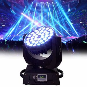 Aocean 4 in1 LED Zoom tête Mobile Disco Light 36 x10W Wash Stage Light DMX512 contrôle 12/16 canaux
