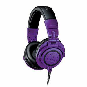 Audio-Technica ATH-M50xPB Casque audio professionnel de monitoring – Violet
