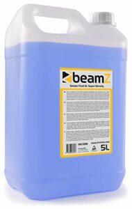 BeamZ liquide pour machine à fumée 5L – haute densité, haute performance, ne laisse pas de résidus, biodégradable, non toxique pour la santé et l'environnement.