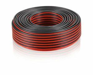 Câble de haut-parleur MANAX® 2 x 2,50 mm² rouge/noir 10,0 m