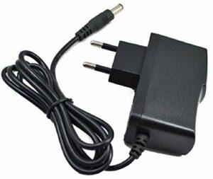CARGADOR ESP Adaptateur Secteur Alimentation Chargeur 9V Compatible avec Remplacement pour EW AC-DC Adaptor EW-AD0910001E EW AD0910001E câble d'alimentation