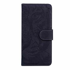 Coque pour Huawei Nova 5T / Honor 20 Coque,Housse en Cuir Flip Case Portefeuille Etui avec Stand Support et Carte Slot pour Huawei Honor20 – EYTX010367 Noir