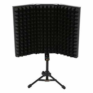 Cuasting Isolation phonique pour enregistrement et isolation phonique – 3 plis – Panneau en mousse haute densité – Pour studio d'enregistrement.