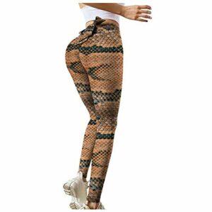 Dasongff Legging stretch taille haute pour femme, legging de fitness, yoga, pantalon de sport