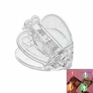Décoration créative pour dortoir, guirlande lumineuse LED en forme de cœur pour décoration de mariage