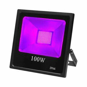 Éclairage de Scène Lampe De Projection Lumineuse Ambiante De Phare LED IP66 Imperméable 85-265V Éclairage de Scène pour DJ (Couleur : 50W, Size : US)