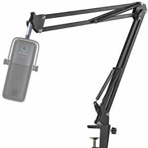 Elgato Wave 3 Support Microphone Professionnel Réglable Améliorant la Qualité Sonore pour Micro USB à condensateur Elgato Wave 3 par YOUSHARES