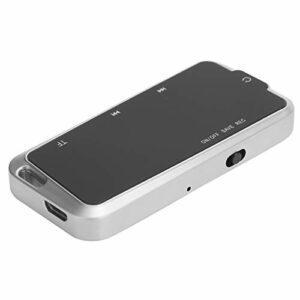 Enregistreur Audio Professionnel SK-100 avec écouteurs, Lecteur de Musique Portable MP3 enregistreur numérique, Prise en Charge de l'enregistrement de Commande vocale, Aucune interférence de Bruit.