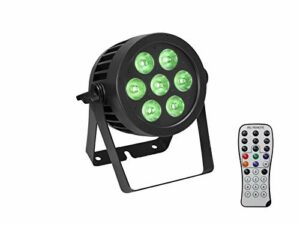 EUROLITE Set LED IP PAR 7x9W SCL Spot + 2x Diffuser cover (15×60° and 40°)