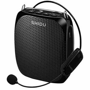 EXCEART 1Pc Mini Amplificateur de Voix Portable Amplificateur de Voix avec Casque Et Microphone pour L'enseignement Trainning Et Guide Touristique