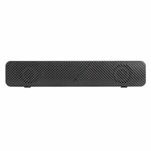 Haut-parleur de l'ordinateur USB V-108, Subwoofer Notebook 4D STEREO 3 pouces Grand haut-parleur, barre de son portable avec qualité sonore HD, prise en charge de 3,5 mm pour une prise universelle, po