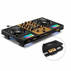 Hercules DJControl Inpulse 500 Gold Edition – Edition limitée – Contrôleur DJ USB 2 voies pour Serato DJ Pro et DJUCED