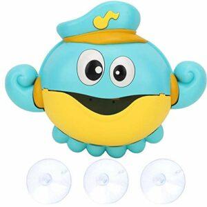 Jouet de machine à bulles de musique non toxique avec des lumières colorées et de la musique adaptée aux enfants