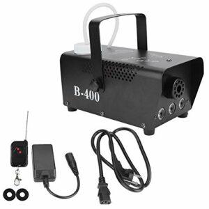 Machine à fumée de brouillard durable 400W, mini machine à brouillard LED creuse à télécommande, pour barres d'étapes