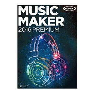 MAGIX Music Maker 2016 Premium [Téléchargement]