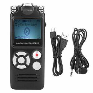 Mini enregistreur Audio Enregistreur Audio Portable Haute définition avec réduction du Bruit, pour enregistreur