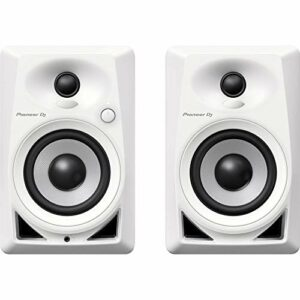 Moniteurs de Studio Blancs Pioneer Dj Dm-40-W