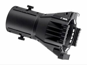 Monoprice Ellipsoidal Replacement Lens 19 Degree | Light Weight ABS Lens Tube, ABS housing – Stage Right Series