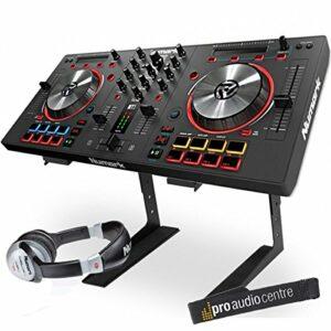 Numark Mixtrack Pro 3 Contrôleur numérique USB DJ avec support pour ordinateur portable et casque