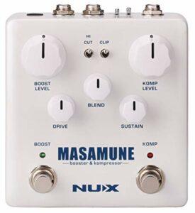 NUX Booster et compresseur guitare à routage interne
