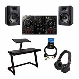 Pioneer DDJ400 2Ch Contrôleur DJ pour logiciel rekordbox DJ Bundle complet Home DJ