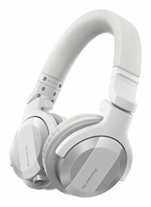 Pioneer DJ HDJ-CUE1BT-W, Casques DJ avec Bluetooth, Blanc