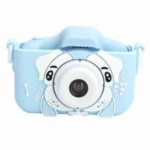RBSD Appareils Photo numériques vidéo pour Enfants, caméra vidéo, Enregistrement vidéo léger Portable pour Tout-Petits pour Les Cadeaux d'anniversaire pour Filles et garçons(Blue)