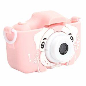 RBSD Appareils Photo numériques vidéo pour Enfants, caméra vidéo, Enregistrement vidéo léger Portable pour Tout-Petits pour Les Cadeaux d'anniversaire pour Filles et garçons(Pink)
