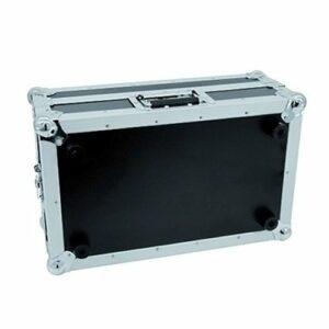Roadinger 061873 MCB-19 Flight-case de Mixer Pro en pente 6U Noir