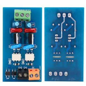 SALUTUYA Module de Relais AC8-230V Carte amplificateur Protection RC de composant électronique pour Une Commutation Rapide