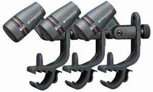 Sennheiser E604 Lot de 3 Microphones dynamiques pour Instrument cardioïde