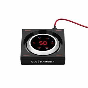 Sennheiser GSX 1200 Pro Amplificateur Audio Gaming Noir/Rouge