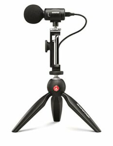 Shure le Mv88 + Video Kit avec Microphone Numérique Stéréo à Condensateur pour Apple et Android