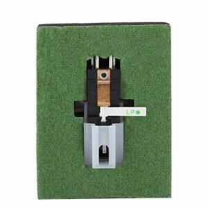 Stylet à aiguille stéréo résistant à l'usure Stylet à double aiguille Installation facile Longue durée d'utilisation pour tourne-disque