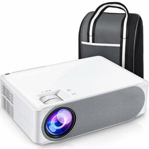 YWSZJ Projecteur Full HD 630/630 W, écran de synchronisation WiFi de cinéma Maison 1080P Portable pour Petit Bureau à Domicile (Color : Upgrade)