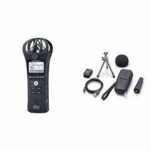 ZOOM H-1n/220GE Handy Recorder Enregistreur Audio & APH-1n/IF Accessoire Pack APH-1n/GE