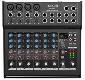 Audibax 1002 FX Table mixtes 8 canaux et effets